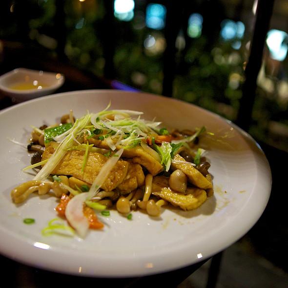 Vegetarian Tofu Stir Fry @ Roof Garden Of Rex Hotel, Saigon, Vietnam