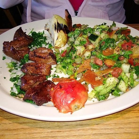 Lamb Kabob @ Aly Baba Mediterranean Grill