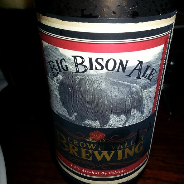 Big Bison Dubbel Beer @ Marlow's Tavern