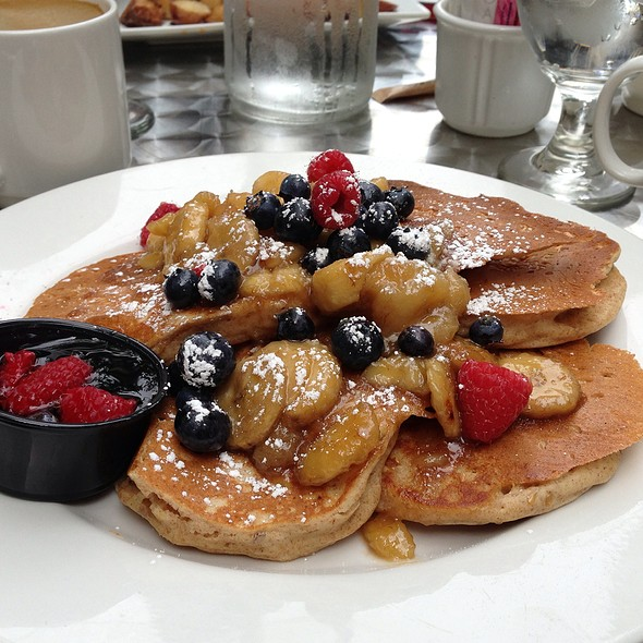 Banana And Flax Seed Pancakes - Sunny Side Up, Chicago, IL