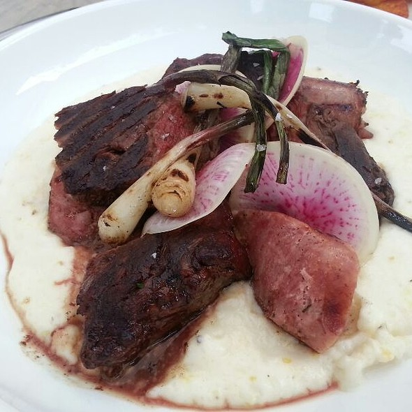 Wood Grilled Hanger Steak  @ Seven Lamps