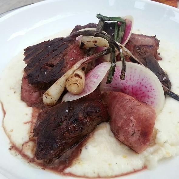 Wood Grilled Hanger Steak  @ Seven Lamps