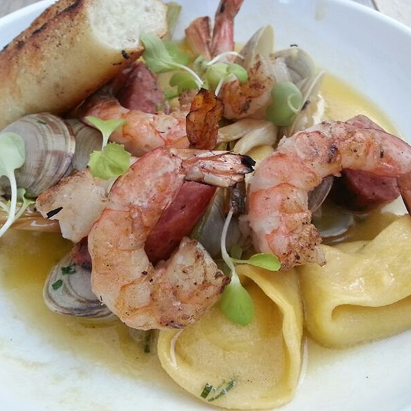Grilled Shrimp And Clams @ Seven Lamps