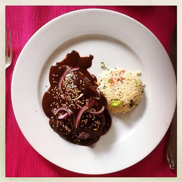 Mole Poblano And Chicken @ Homemade by Alibert