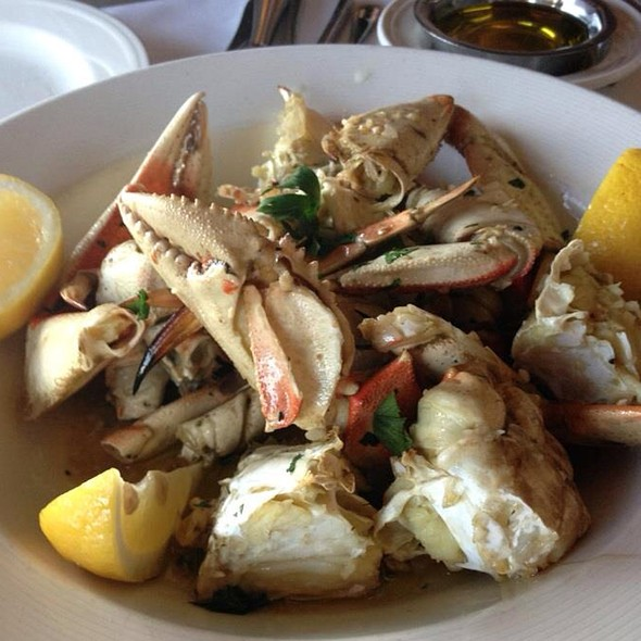 Garlic Roasted Dungeness Crab @ Scoma's