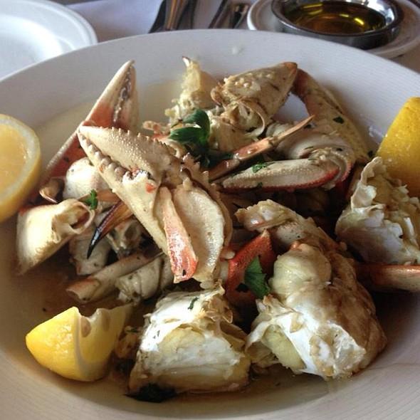 Garlic Roasted Dungeness Crab @ Scoma's
