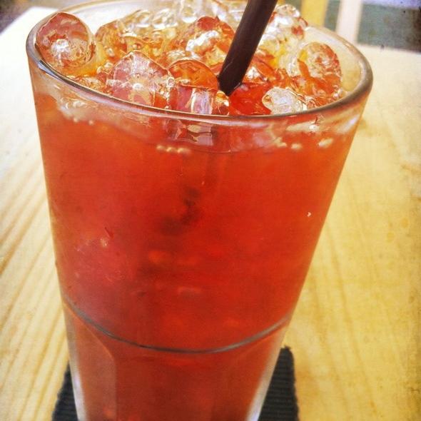Iced Black Tea @ OMU Cafe+Omurice