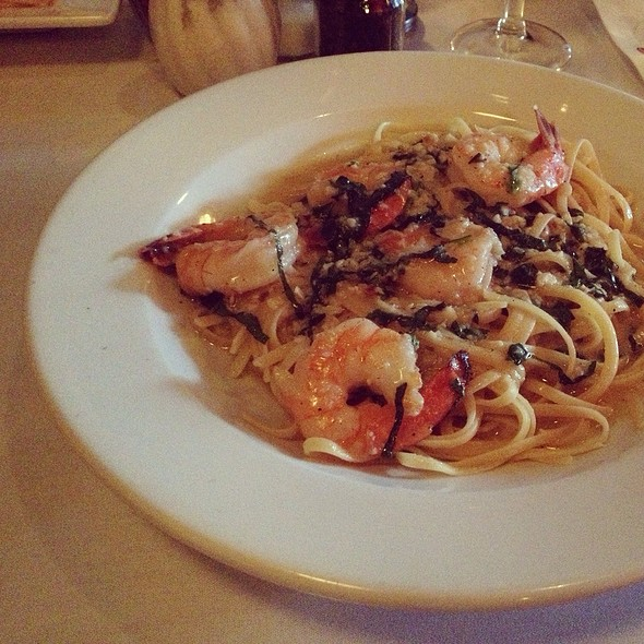 Shrimp Scampi - Cafe Luna, Naples, FL