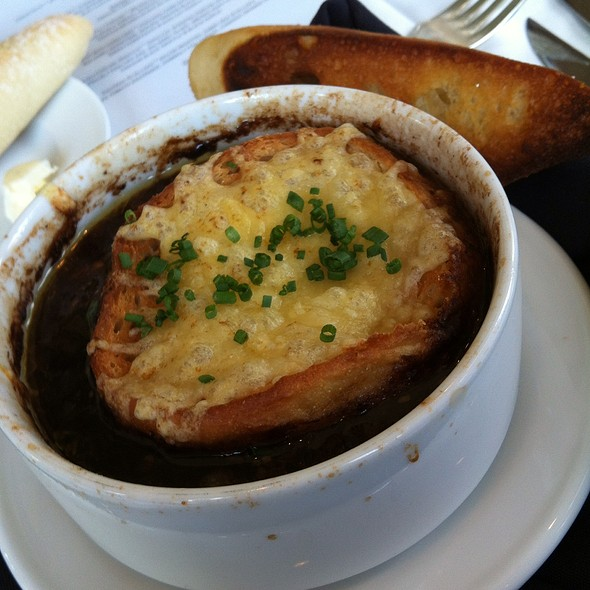 French Onion Soup - La Caille Restaurant, Sandy, UT