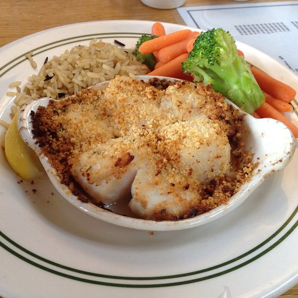 Baked scallops @ Jordan Pond House