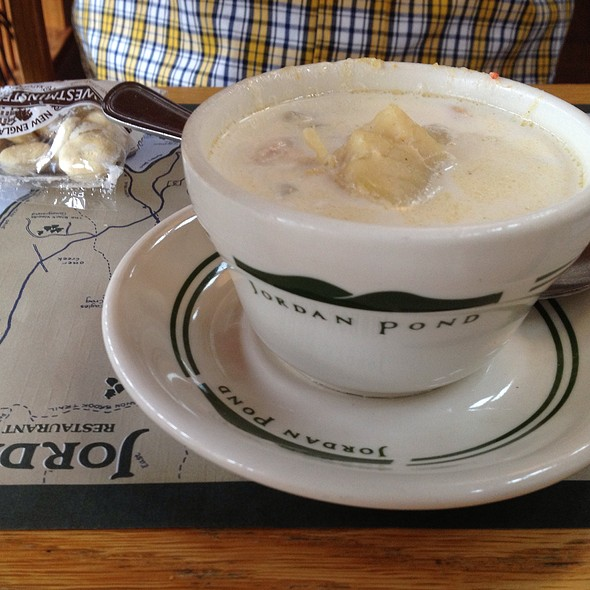 Seafood Chowder @ Jordan Pond House