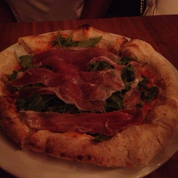 Prosciutto And Arugula Pizza @ Mangia Foco