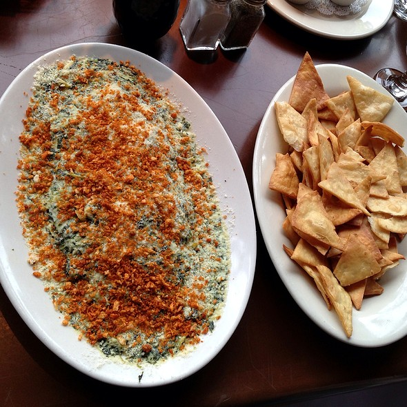 Artichoke And Spinach Dip @ Detroit Seafood Market