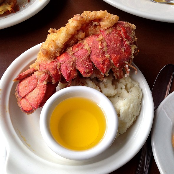 Deep Fried Lobster Tail @ Detroit Seafood Market