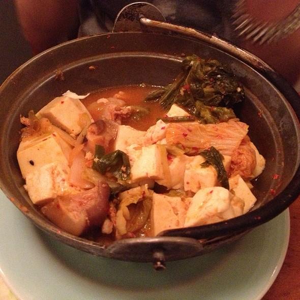 Kimchee Tofu Nabe