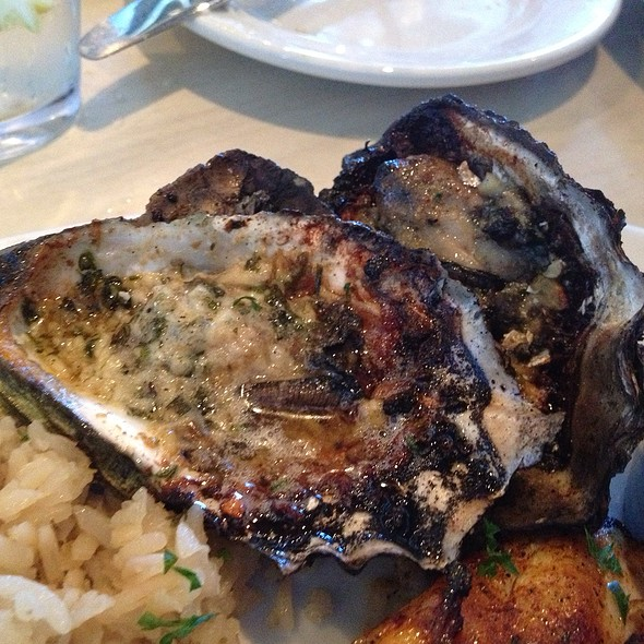 Grilled Oysters @ Lure Fish House