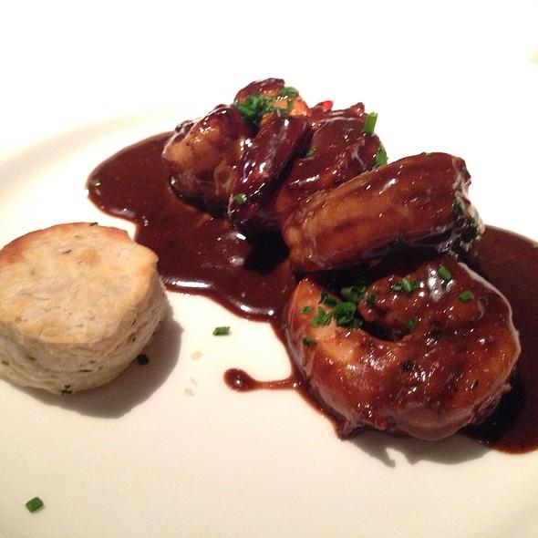 BBQ Shrimp & A Buttermilk Biscuit @ Delmonico's Steakhouse