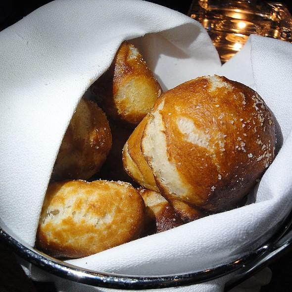 Pretzel Buns - dp An American Brasserie, Albany, NY
