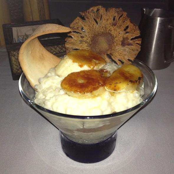 Piña Colada Tapioca Pudding - Kamuela Provision Co., Waikoloa, HI