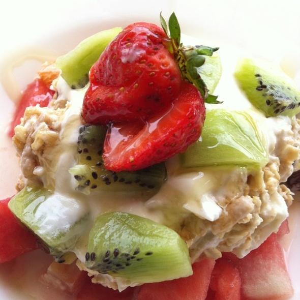 Bircher Museli With Yoghurt