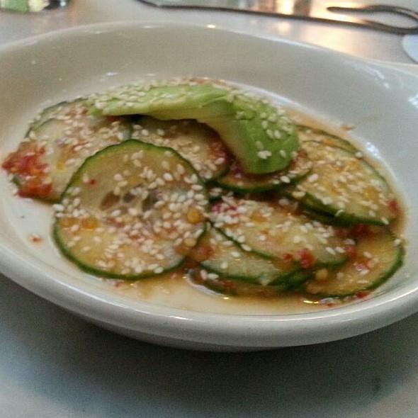 Spicy Korean Cucumber Salad @ Lure