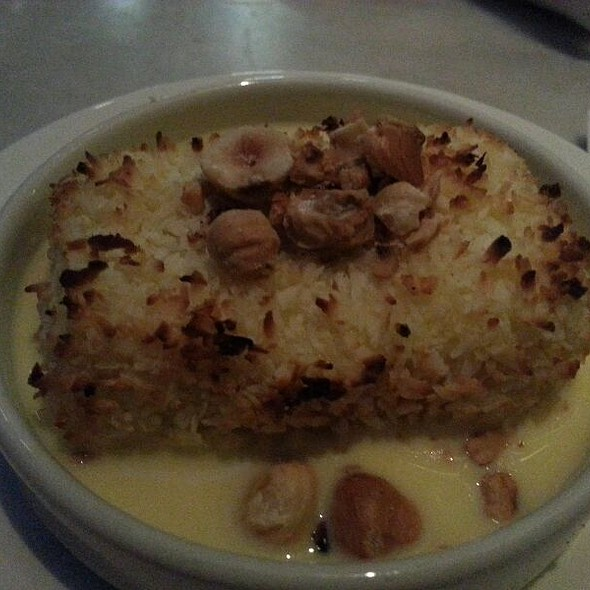 Coconut And Guava Bread Pudding @ Lure