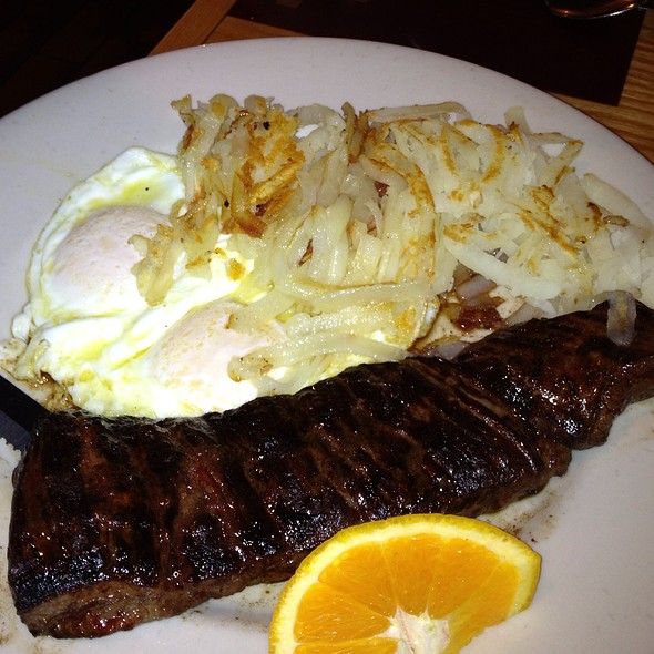 Steak and Eggs - Beef and Brandy Restaurant and Lounge, Chicago, IL
