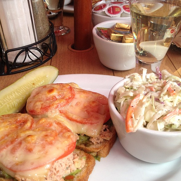 Tuna Melt On Osm Bread - The Bunnery Bakery & Restaurant, Jackson, WY