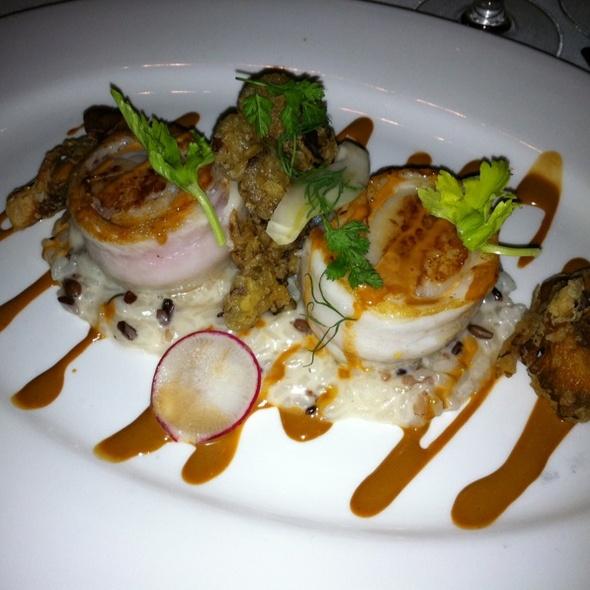Scallops @ Chaya Brasserie