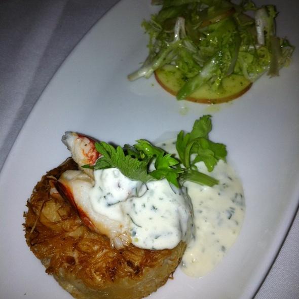crab cake @ Chaya Brasserie