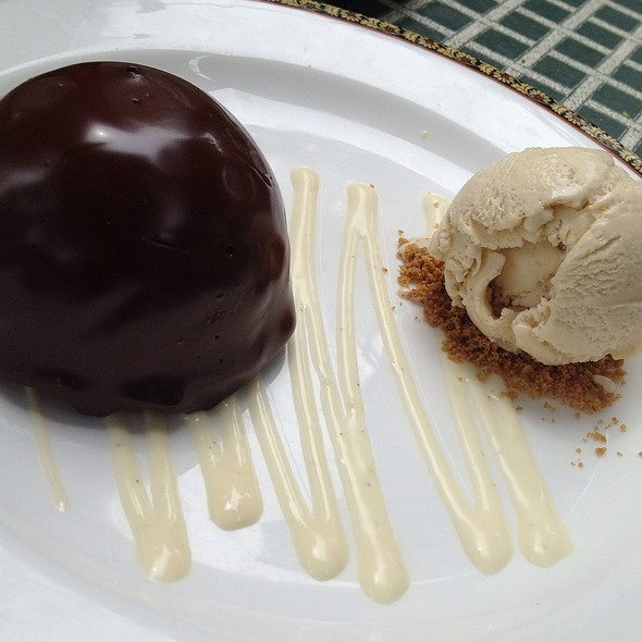 Peanut Butter Chocolate Bomb - Old Angler's Inn, Potomac, MD