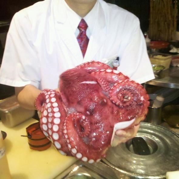 Octopus Sashimi (tako) @ Ai Japanese Restaurant & Lounge
