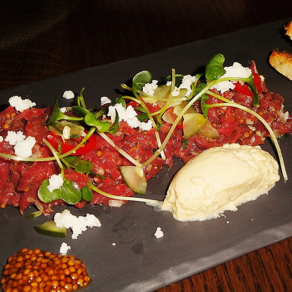 Bison Tartare @ Weslodge