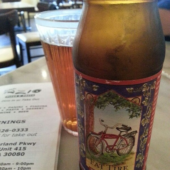 Fat Tire Amber Ale Beer @ Little Azio
