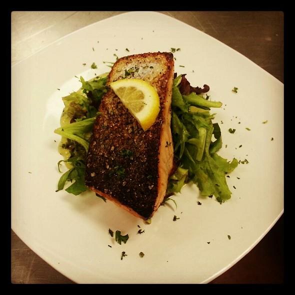 Chilean Salmon With An Avocoado Remolade @ Cafe 27