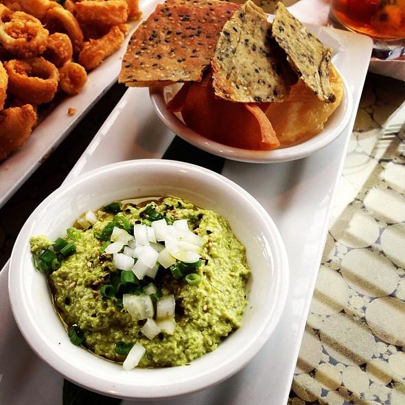 Edamame Hummus - Bali Hai Restaurant, San Diego, CA