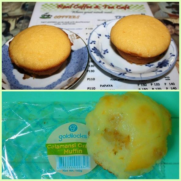 Calamansi Orange Muffin