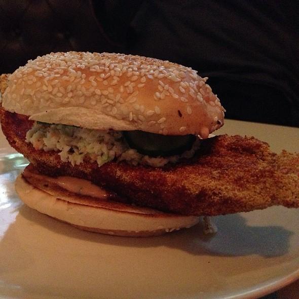 Hot Fish Sandwich @ The Commodore