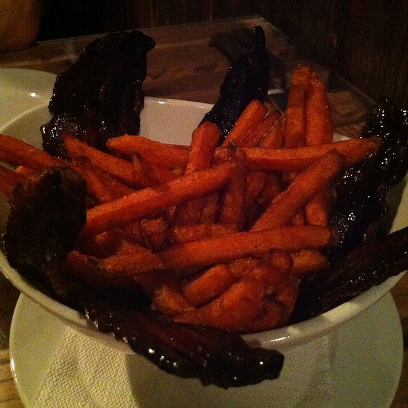 Candied Bacon And Sweet Potato Fries