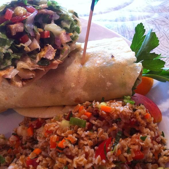 Tandoori Chicken Wrap @ Alexis Baking Co.