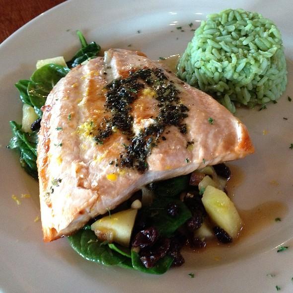 Salmon A La Catalona @ Antigua Latin Restaurant