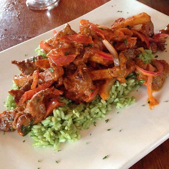 lomo saltado @ Antigua Latin Restaurant