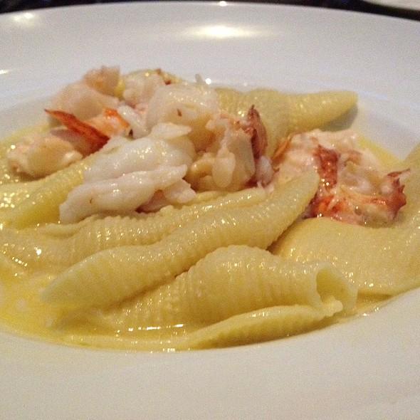 Conchiglie (Sea Shells) Maine Lobster, Vermont Butter - Teatro, Boston, MA