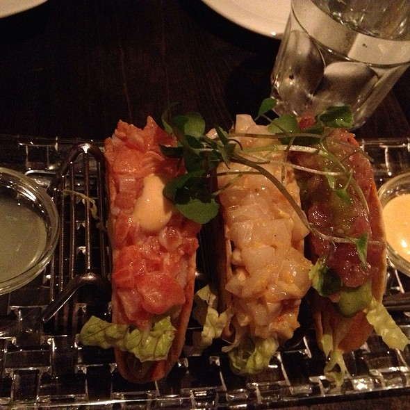 Ceviche Taco - Trout, Scallops And Tuna - Zee Grill, Toronto, ON