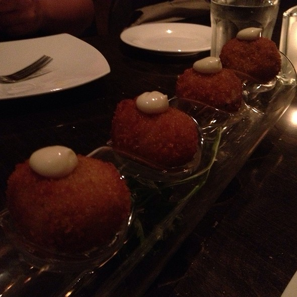 Lobster Croquettes - Zee Grill, Toronto, ON