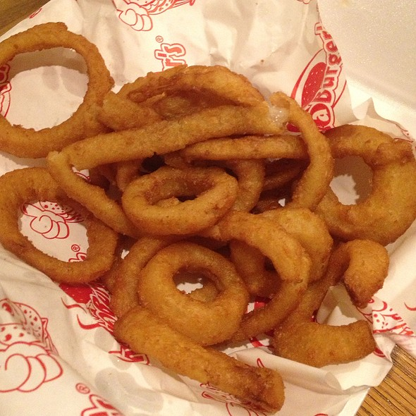 Beer Battered Onion Rings @ Smoke A Burger