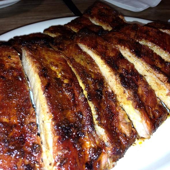 BBQ ribs @ Three Star Bar-B-Q
