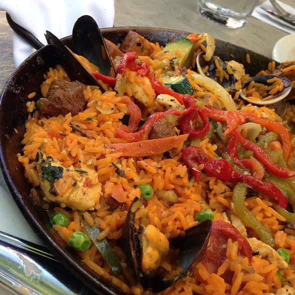 Paella Valenciana - Alegria Cocina Latina, Long Beach, CA