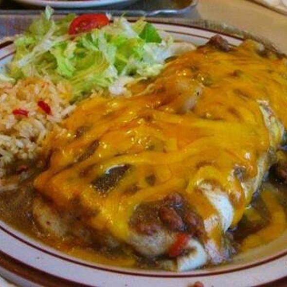Frontier Burrito @ Frontier Restaurant