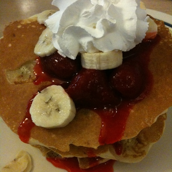 Strawberry Banana Pancakes @ IHOP Restaurant